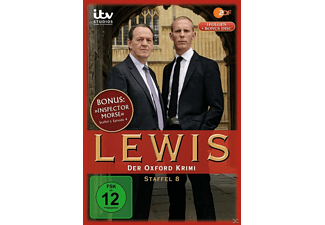 Lewis-Der Oxford Krimi-Staffel 8 - (DVD)