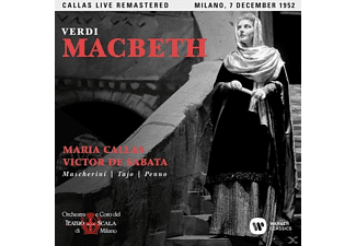 CALLAS/DE SABATA - Macbeth (Mailand,live 07/12/1952 - (CD)