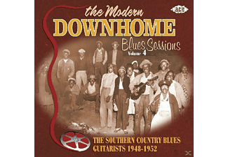 VARIOUS - The Modern Downhome Blues Sessions 4 - (CD)