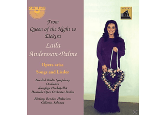 Various, Laila Andersson-Palme - From Queen of the Night to Elektra - (CD)