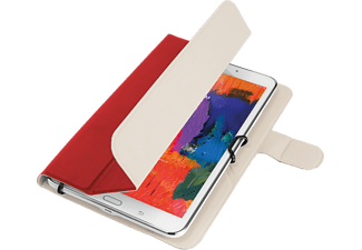 TRUST AEXXO Universal Folio Case For 7-8'' Tablets Red - (21204)