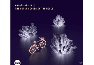Dés András Trio - The worst singer in the world - (CD)