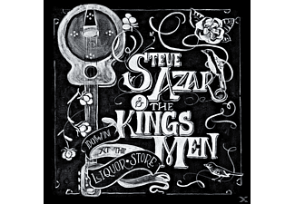 Steve & The Kings M Azar - DOWN AT THE LIQUOR STORE - (CD)