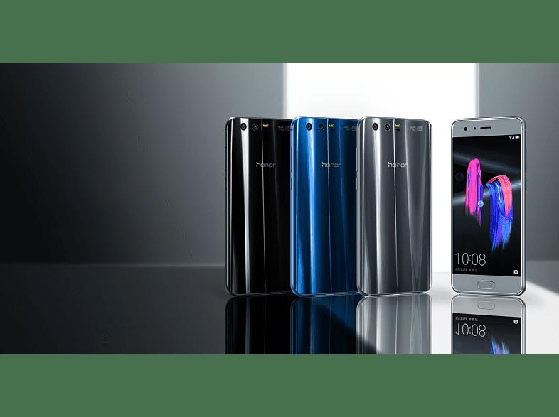 HONOR 9 fekete Dual SIM kártyafüggetlen okostelefon