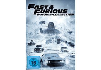 Fast & Furious - 8-Movie Collection - (DVD)
