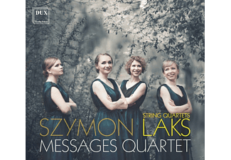 Messages Quartet - Streichquartette - (CD)