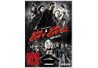 Sin City & Sin City 2: A Dame to Kill For - (DVD)