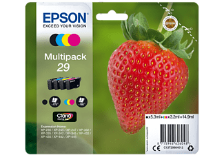 epson 29 noir cyan magenta jaune c13t29864022 cartouche d 39 encre toner. Black Bedroom Furniture Sets. Home Design Ideas