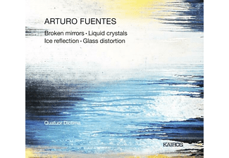 Quatuor Diotima - Broken Mirrors/Glass Distortion/Liquid Crystals/+ - (CD)
