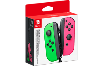 NINTENDO Switch Joy-Cons Par - Neon Green, Neon Pink