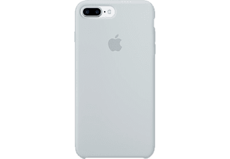 APPLE MQ5C2ZM/A Silicon Case iPhone 7 Plus Handyhülle, Nebelblau