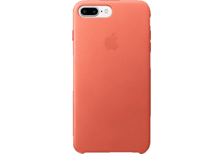 APPLE Leder Case, Backcover, Apple, Backcover, iPhone 7 Plus, Echtleder, Geranie