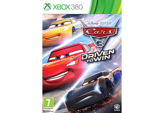 Warner Bros Cars 3, Driven to Win Xbox 360 (1000646060)