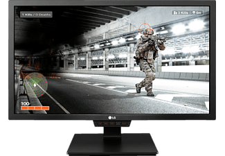 LG 24GM79G, Gaming Monitor mit 60.96 cm / 24 Zoll, 1 ms Reaktionszeit, Anschlüsse: Eingangsbuchse: 2x HDMI, 1x DisplayPort 1.2, 1x USB 3.0 (1 upstream / 2 downstream), Ausgangsbuchse: 1x 3.5mm Audio out