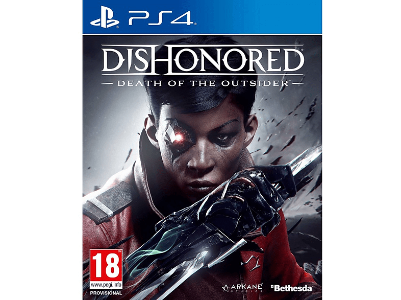 Dishonored Death of the Outsider PlayStation 4 gaming games ps4 games