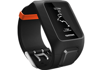 TOMTOM  Adventurer, Fitness Tracker, Schwarz