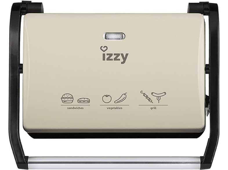 IZZY Panini Crème 123 Izzy είδη σπιτιού   μικροσυσκευές για το πρωινό τοστιέρες