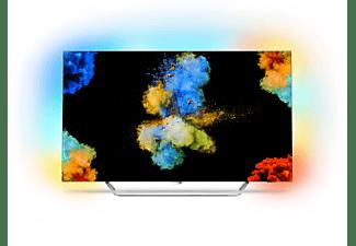 PHILIPS 55POS9002/12, 139 cm (55 Zoll), UHD 4K, SMART TV, OLED TV, 3800 PPI, Ambilight 3-seitig, DVB-T2 HD, DVB-C, DVB-S, DVB-S2