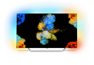 PHILIPS 55POS9002/12 OLED TV (Flat, 55 Zoll, UHD 4K, SMART TV, Android TV)