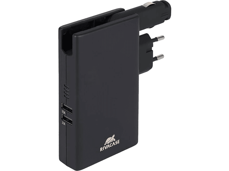 RIVACASE PowerBank 5.000 mAh with Wall & Car Charger Dual USB 3.4A - (VA4749) smartphones   smartliving powerbanks