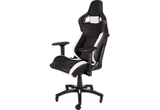 T1 RACE Gaming Chair Bk-wh