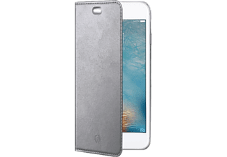 CELLY Air case Huawei P10-hez, ezüst flip cover