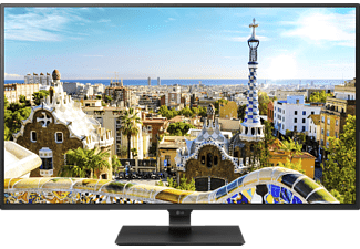 LG 43UD79-B, Monitor mit 107.98 cm / 42.51 Zoll UHD 4K Display, 5 ms Reaktionszeit, Anschlüsse: Eingangsbuchse: 1x DisplayPort 1.2, 4x HDMI, USB-C (DP Alt. Mode), Ausgangsbuchse: 1x 3.5mm Audio out, 2x USB 3.0 (downstream), 1x zus. Service Port