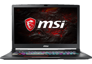 MSI GE73VR 7RF-042DE Raider, Gaming Notebook mit 17.3 Zoll Display, Core™ i7 Prozessor, 16 GB RAM, 256 GB SSD, 1 TB HDD, GeForce® GTX 1070, Schwarz