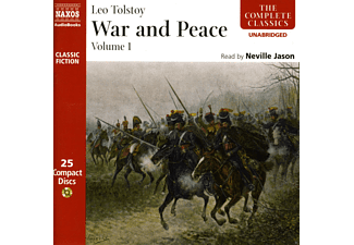 Leo Tolstoy, Neville Jason - War & Peace 1 - (CD)