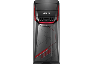 ASUS G11CD-K-DE020T, Gaming PC mit Core™ i7 Prozessor, 32 GB RAM, 1 TB HDD, 512 GB SSD, GeForce GTX 1080, 8 GB