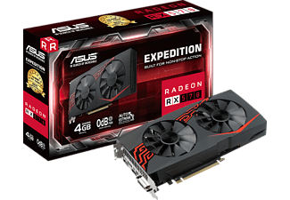 ASUS Radeon RX 570 Expedition 4GB (90YV0AI1-M0NA00)( AMD, Grafikkarte)