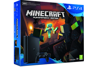 SONY PS4 500GB Slim + Minecraft