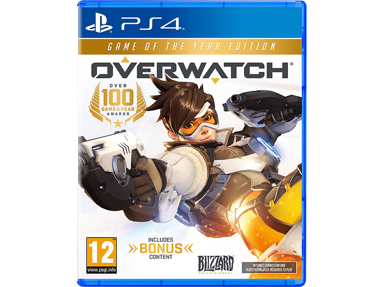 Overwatch - Game of the year Edition PlayStation 4 gaming games ps4 games