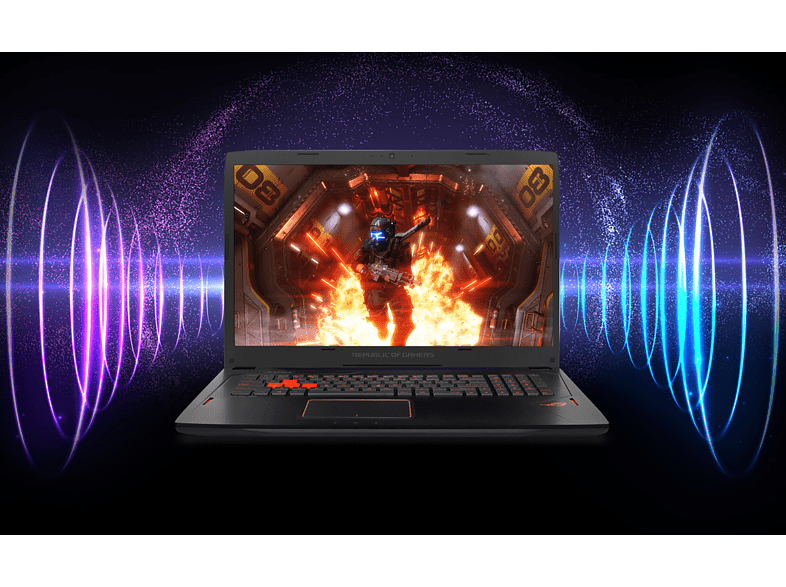 "ASUS ROG Strix GL702VM-BA127 laptop (17,3"" FHD/Core i7/16GB/256GB SSD+1TB HDD/GTX1060 6GB VGA/Endless OS)"