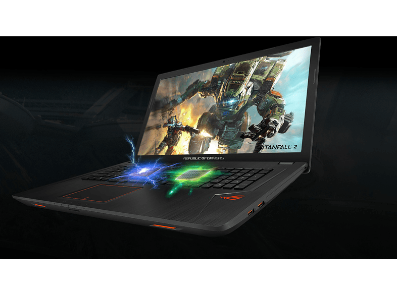 "ASUS ROG Strix GL753VD-GC010T gaming notebook (17.3"" Full HD/Core i5/8GB/1TB + 128GB/GTX1050 4GB/Win10)"