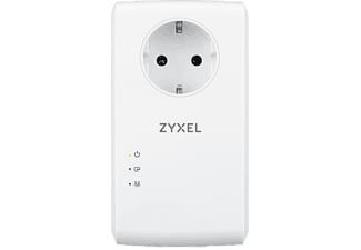 ZyXEL AV2000 MIMOPass thru Powerline Gigabit Ethernet Adapter Twin (PLA5456-EU0201F)