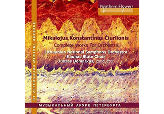 Lithuanian National Symphony Orchestra, Kaunas State Choir - Ciurlionis - Die Orchesterwerke: In The Forest / The Sea / De Profundis - (CD)