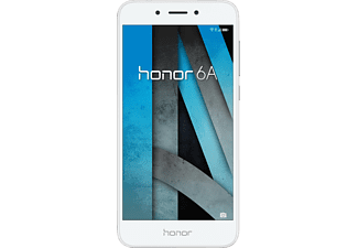 HONOR 6A, Smartphone, 16 GB, 5 Zoll, Silber, LTE