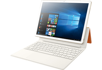 HUAWEI MateBook E, Convertible mit 12 Zoll, 256 GB Speicher, 4 GB RAM, Core™ i5 Prozessor, Windows 10 Home 64-bit, Gold