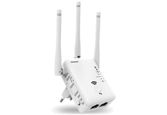 STRONG Dual Band Repeater 750 - bis zu 750 Mbit/s - Access Point - Router - weiß