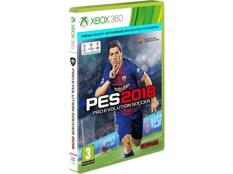 Pro Evolution Soccer 2018 - Premium Edition gaming games xbox 360 games