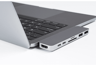 Hyper USB-C 7in1 adapter Space Grey