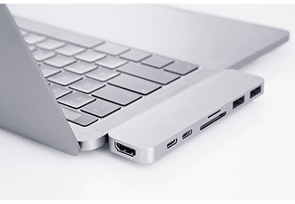Hyper USB-C 7in1 adapter Silver