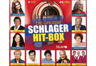 Various - Grosse Schlager Hit-Box,Die - (CD)