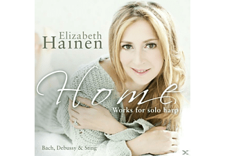 Elizabeth Hainen - Works For Solo Harp - (CD)