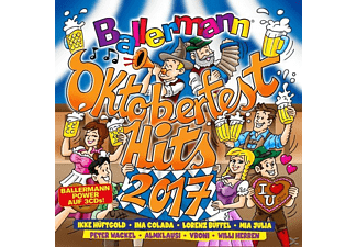 VARIOUS - Ballermann Oktoberfest Hits 2017 - (CD)
