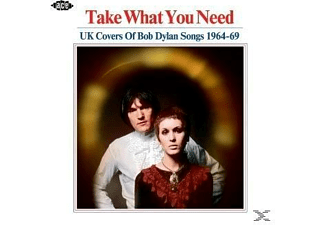 VARIOUS - Take What You Need-UK Covers Of Bob Dylan Songs - (CD)