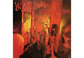 W.A.S.P. - Live-In The Raw - (Vinyl)