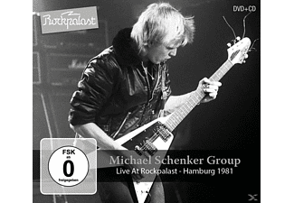 Michael Schenker Group - Live At Rockpalast-Hamburg 1981 - (CD + DVD Video)