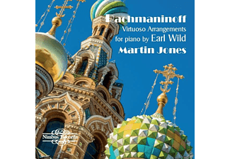 Martin Jones - Virtuose Arrangements für Klavier von Earl Wild - (CD)